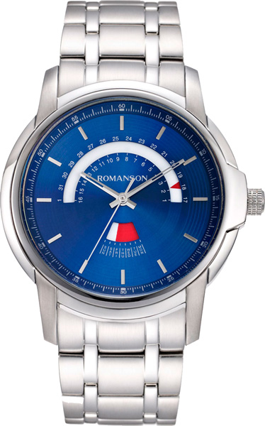 цена на Мужские часы Romanson TM6A21CMW(BU)