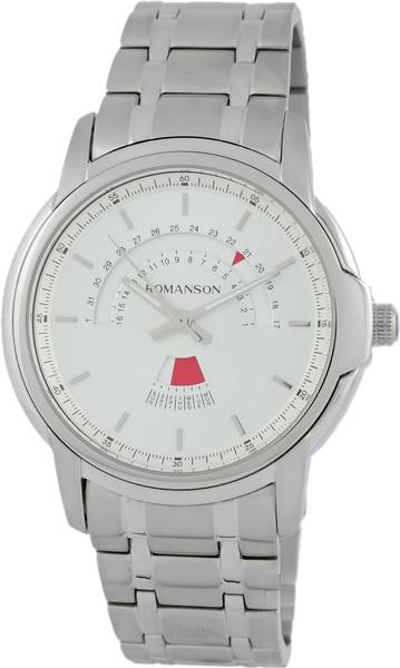 Мужские часы Romanson TM6A21CMW(WH) romanson tm 9248 mj wh