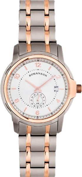 Мужские часы Romanson TM6A21JMJ(WH) romanson tm 9248 mj wh
