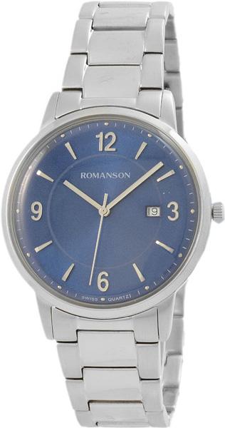 Мужские часы Romanson TM6A24MMW(BU) romanson tm 7a15f mw bu
