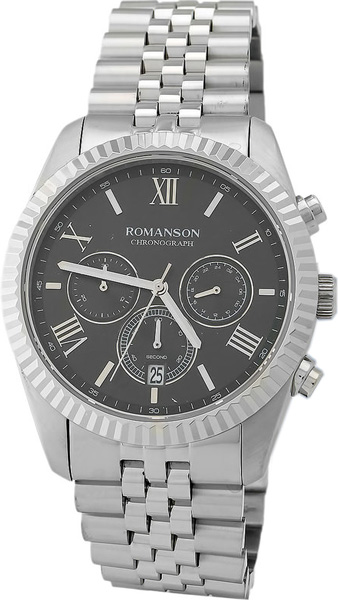 лучшая цена Мужские часы Romanson TM6A28HMW(BK)