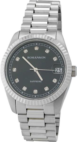Мужские часы Romanson TM6A28MMW(BK)