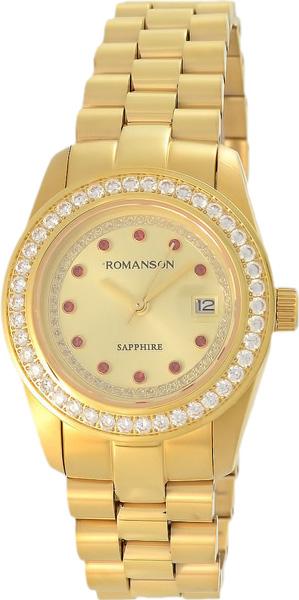 Женские часы в коллекции Adel Женские часы Romanson TM6A28QLG(GD) фото