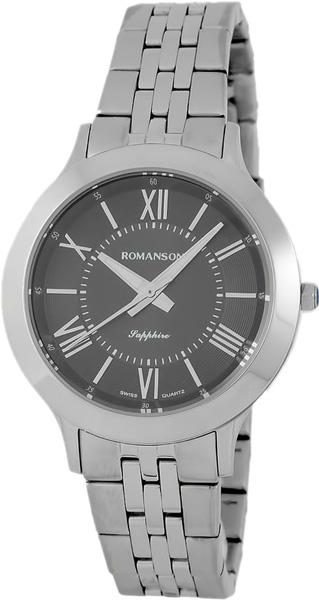 Женские часы Romanson TM7A05LLW(BK) romanson tm 9248 mj wh