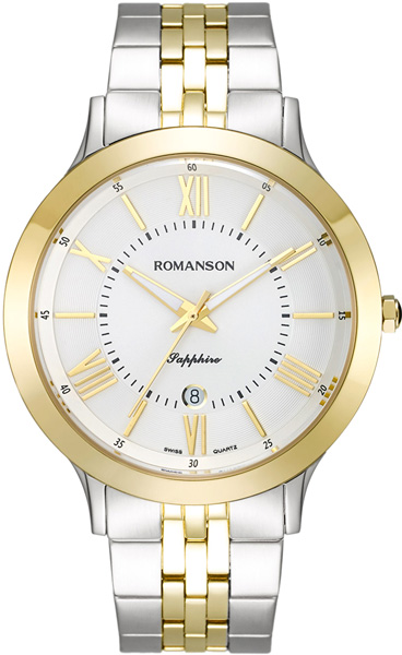 Мужские часы Romanson TM7A05MMC(WH) romanson tm 9248 mj wh