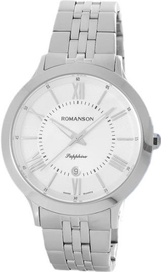 Мужские часы Romanson TM7A05MMW(WH) купить часы мальчику 7 лет