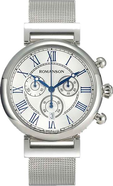 Мужские часы Romanson TM7A08HMW(WH)