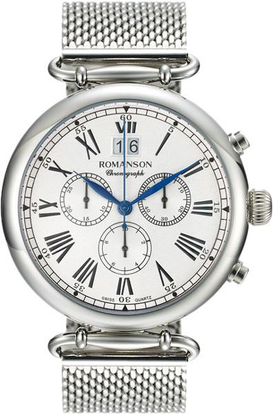 Мужские часы Romanson TM7A13HMW(WH)