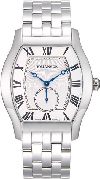 лучшая цена Мужские часы Romanson TM7A14MMW(WH)