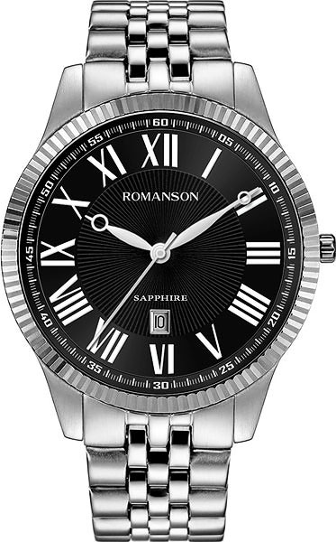 Мужские часы Romanson TM7A19MMW(BK)