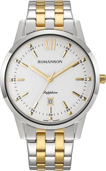 Мужские часы Romanson TM7A20MMC(WH)