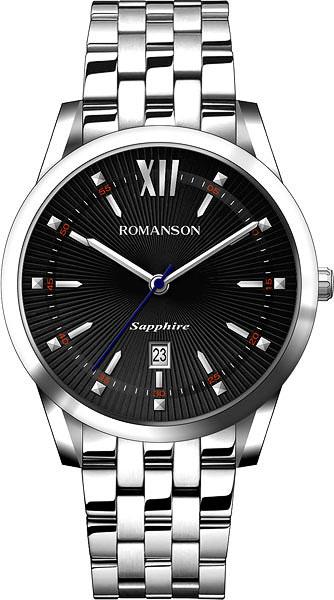 Мужские часы Romanson TM7A20MMW(BK)