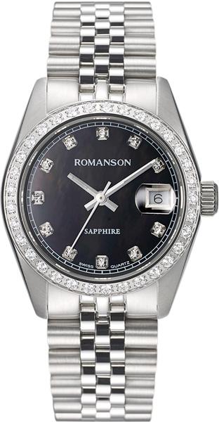 Женские часы Romanson TM7A23QLW(BK) цена и фото