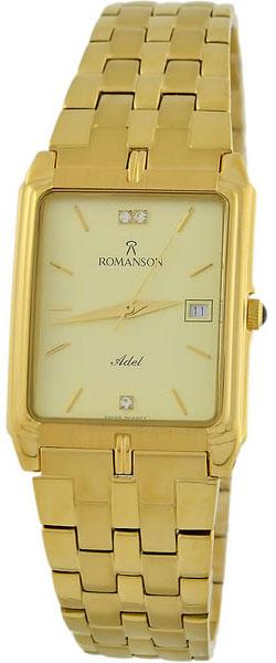 Мужские часы Romanson TM8154CMG(GD) romanson rm 9207q lj gd