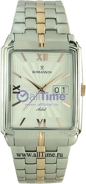 Мужские часы Romanson TM8154CXJ(WH) romanson tm 9248 mj wh