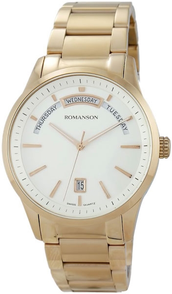 Мужские часы Romanson TM8237MR(WH) romanson tm 8201r mr wh