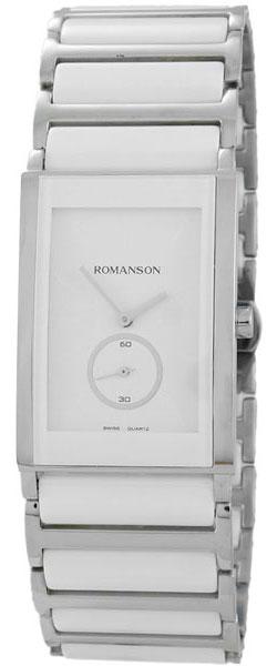 Мужские часы Romanson TM8251MW(WH) romanson часы romanson tm8154cmr wh коллекция adel