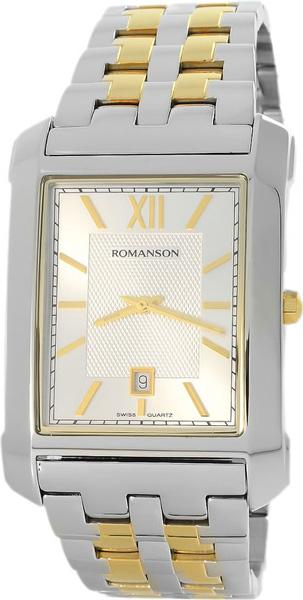Мужские часы Romanson TM8253MC(WH) romanson tm 8253 mj wh