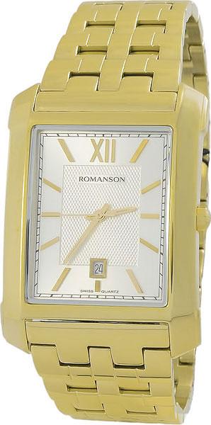 Мужские часы Romanson TM8253MG(WH) romanson tm 8253 mj wh