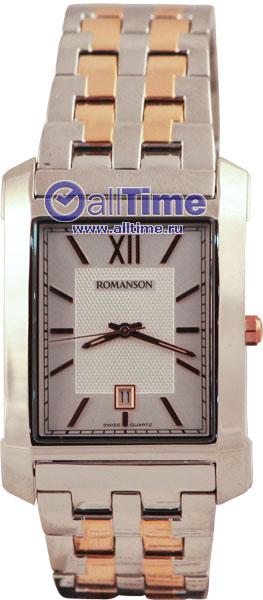 Мужские часы Romanson TM8253MJ(WH) мужские часы romanson tm8253mj wh