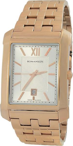 Мужские часы Romanson TM8253MR(WH) romanson tm 8253 mj wh