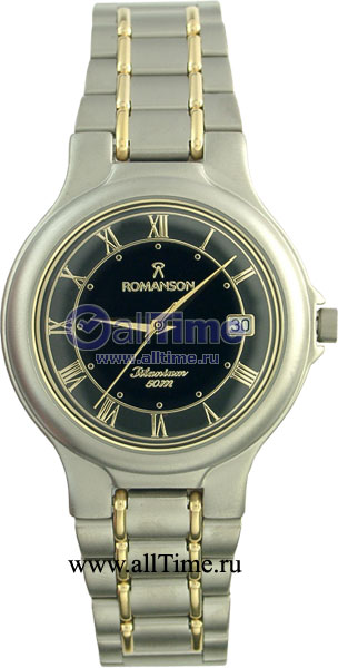 Мужские часы Romanson TM8697MC(BK) romanson tm 9248 mj wh