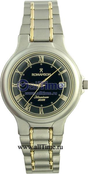 Мужские часы Romanson TM8697MC(BK) romanson tm 8697 mc wh