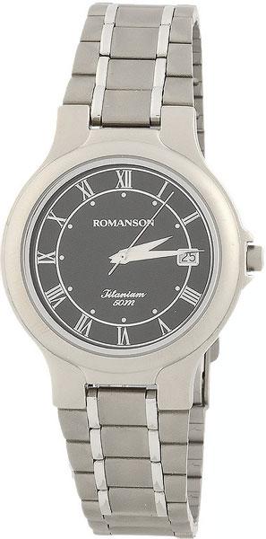 лучшая цена Мужские часы Romanson TM8697MW(BK)