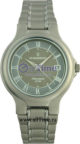 Мужские часы Romanson TM8697MW(GR) romanson tm 7a15f mw bu