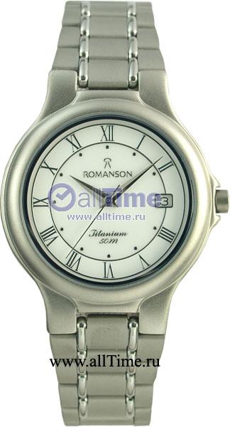 Мужские часы Romanson TM8697MW(WH) romanson rm 6a31l lw wh