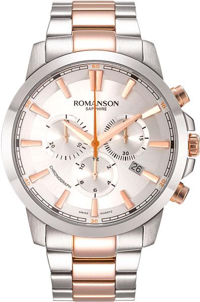 Мужские часы Romanson TM8A11HMJ(WH)