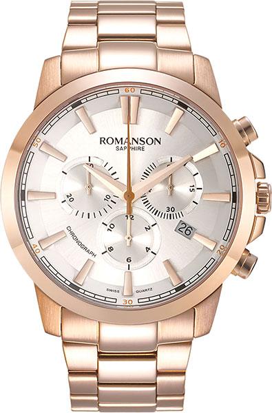 Мужские часы Romanson TM8A11HMR(WH)