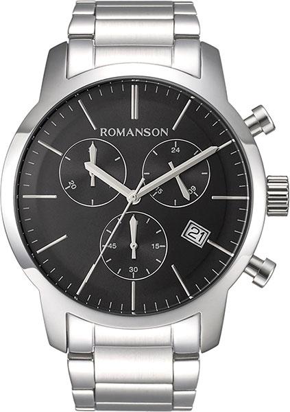 лучшая цена Мужские часы Romanson TM8A19HMW(BK)