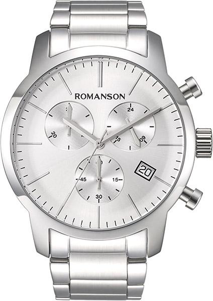 Мужские часы Romanson TM8A19HMW(WH) цена и фото