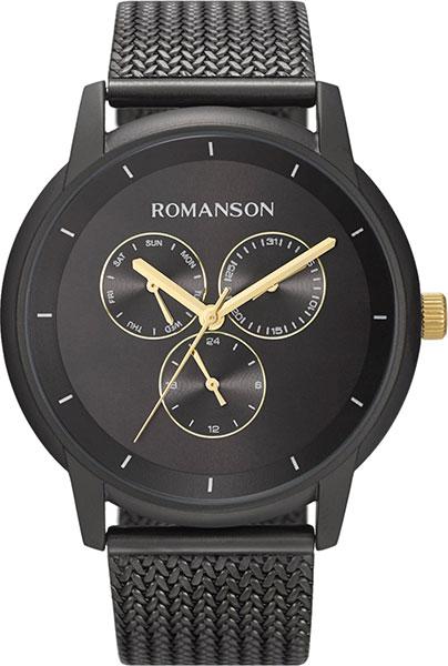 Мужские часы Romanson TM8A22FMB(BK) мужские часы romanson tm8a19hmb bk