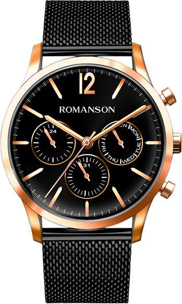 Мужские часы Romanson TM8A34FMR(BK)