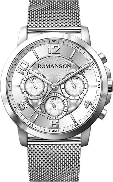 Мужские часы Romanson TM8A36FMW(WH)