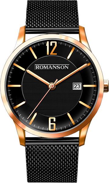 Мужские часы Romanson TM8A40MMR(BK)