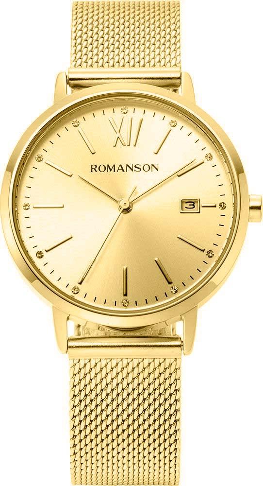 Женские часы Romanson TM8A42LLG(GD) беспроводная гарнитура mi bluetooth headset black
