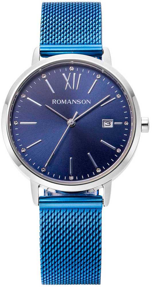 лучшая цена Женские часы Romanson TM8A42LLW(BU)