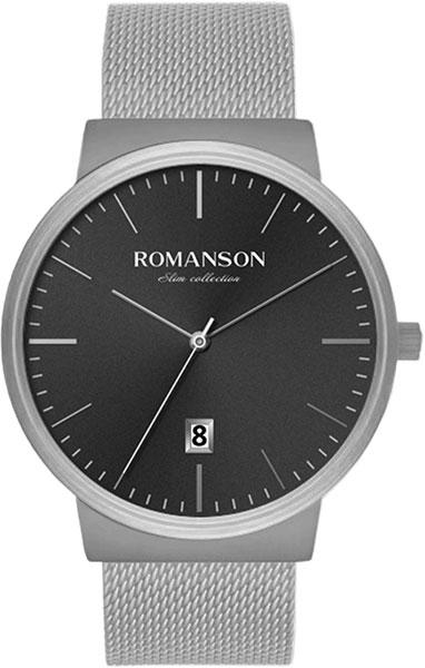 Мужские часы Romanson TM8A43MMW(BK)