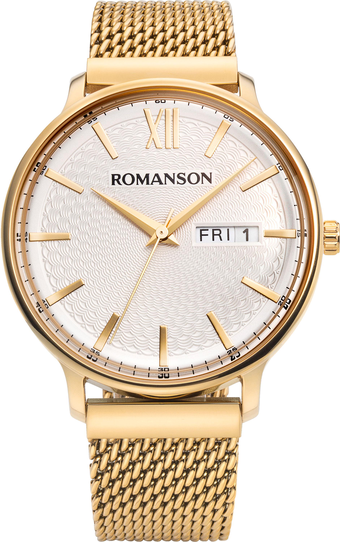 Мужские часы Romanson TM8A49MMG(WH)