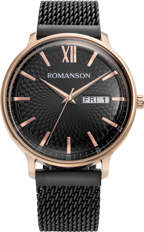 Мужские часы Romanson TM8A49MMR(BK)
