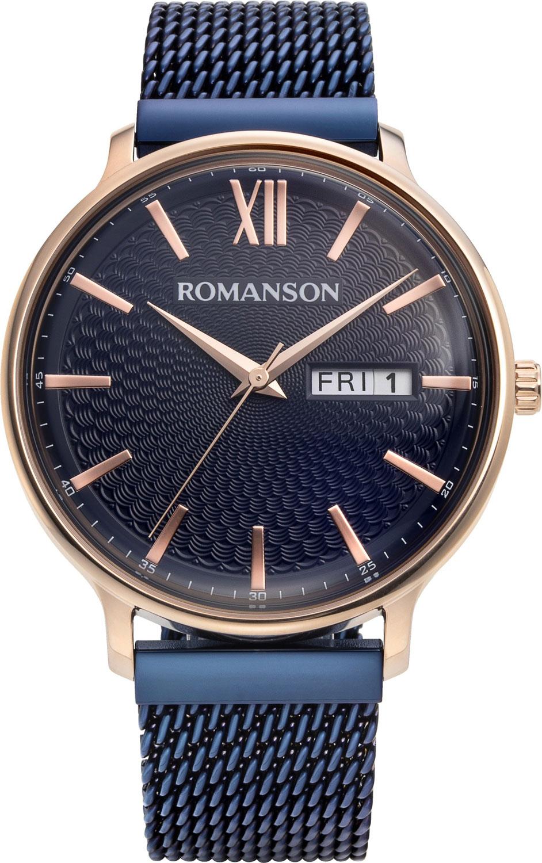 Мужские часы в коллекции Adel Мужские часы Romanson TM8A49MMR(BU) фото