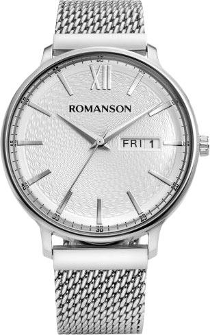 лучшая цена Мужские часы Romanson TM8A49MMW(WH)