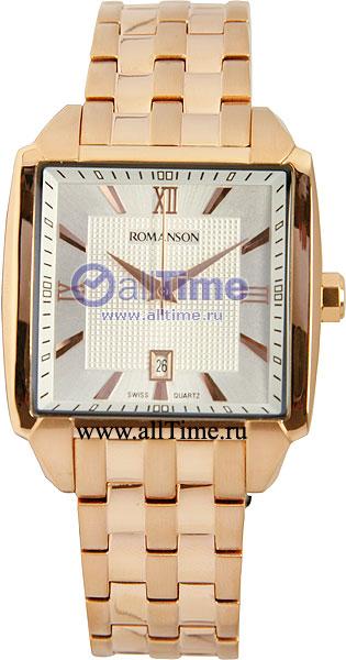 Мужские часы Romanson TM9216MR(WH) romanson tm 8201r mr wh