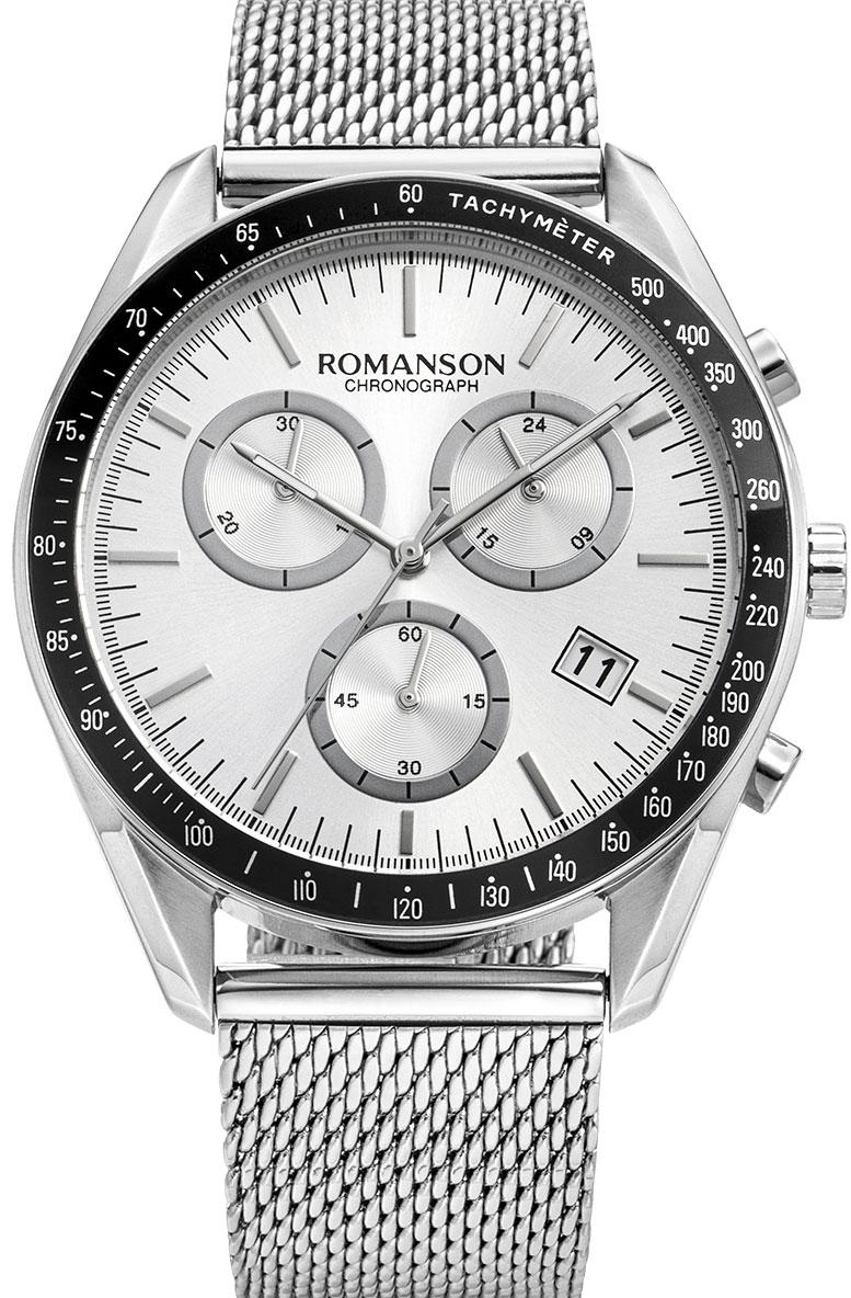 Мужские часы Romanson TM9A21HMW(WH) цена