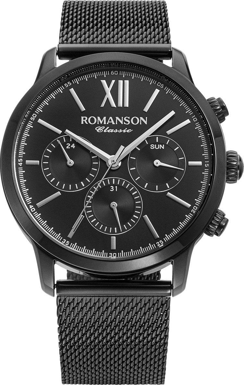Мужские часы Romanson TM9A22FMB(BK)