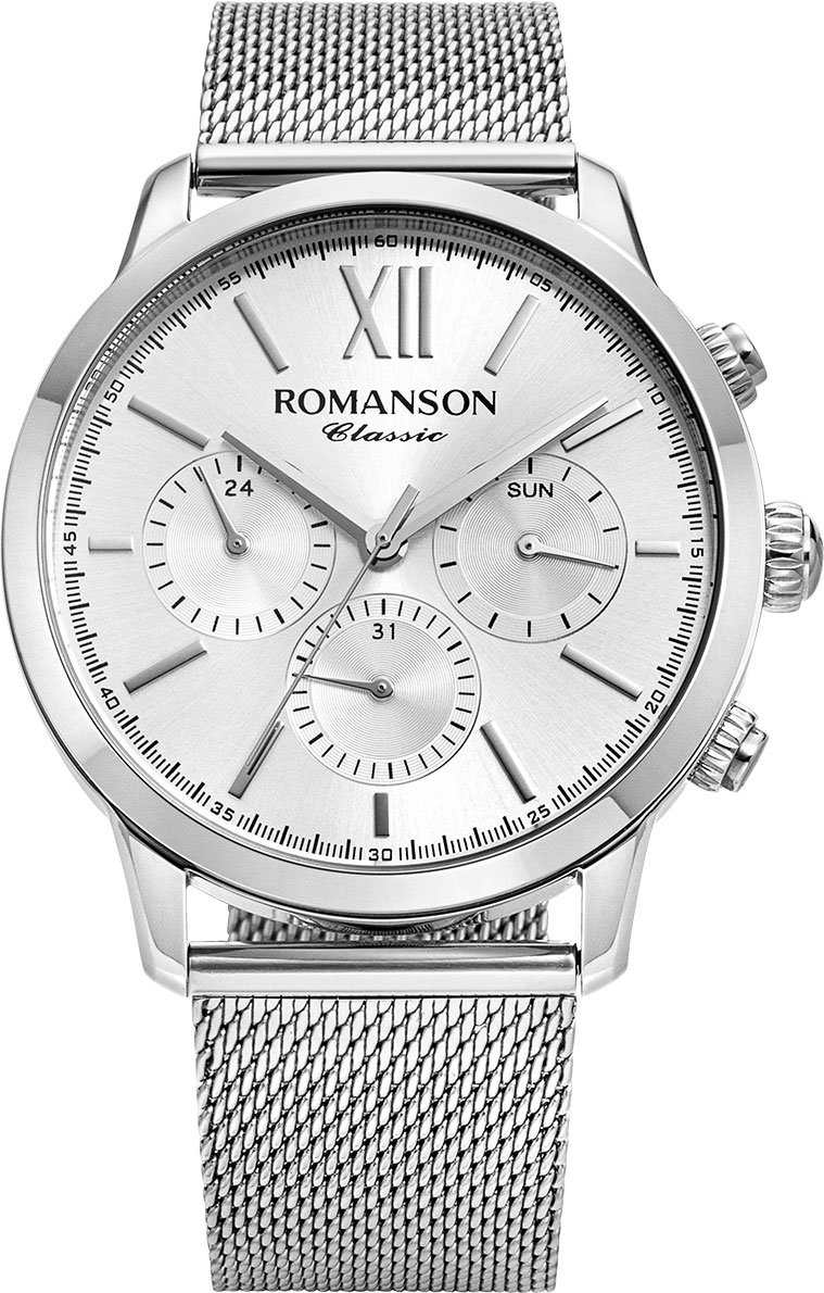 Мужские часы Romanson TM9A22FMW(WH)