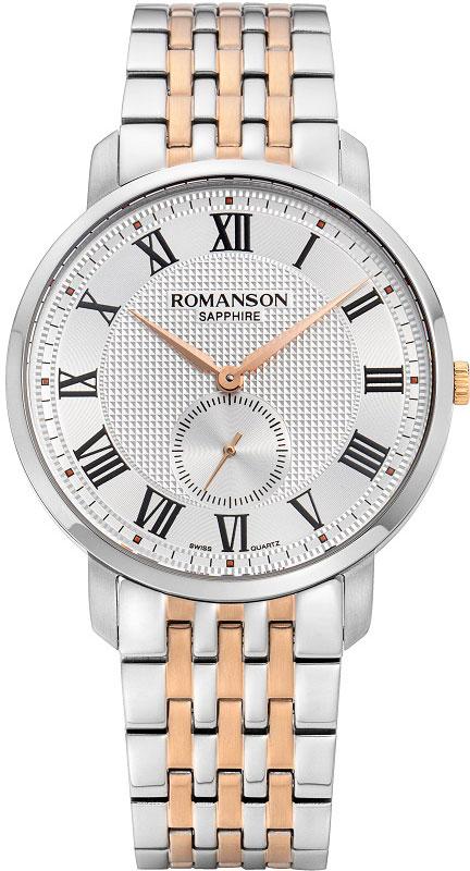 Мужские часы Romanson TM9A24MMJ(WH) мужские часы romanson tl5140smc wh